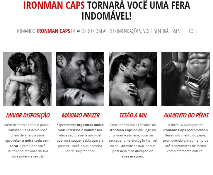 iron man caps funciona #1